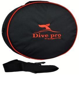 Dive Pro Atemreglertasche rund