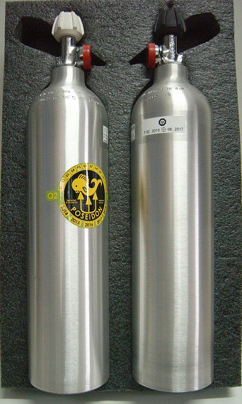 3L Aluminium Cylinder Set EU Poseidon