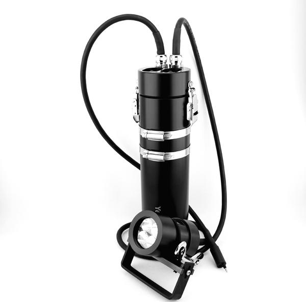 LED Akkutanklampe 20 W, 2 Kippschalter, verschiedene Ausführungen
