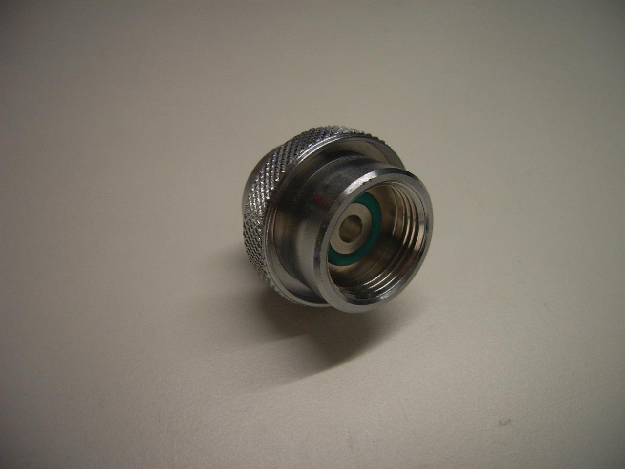 """Adapter 5/8"""" Luft IG auf  Sauerstoff IG 230 bar"""