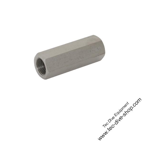 Rückschlagventil, VA 1.4305, G1/4 innen 300 bar, oder Wartungssatz