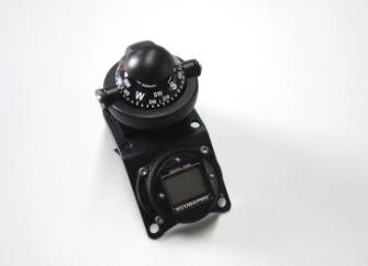 Navigationseinheit (Kompass + Bottomtimer), verschiedene Ausführungen
