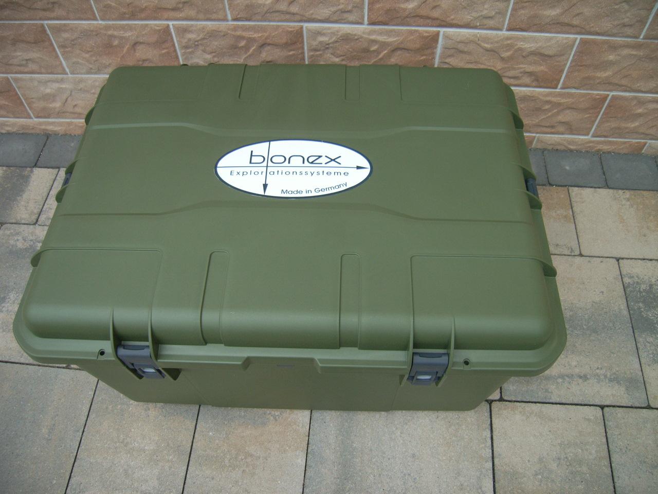 Bonex Transportbox mit Schaumeinlage, ohne Inhalt, Für Reference RS