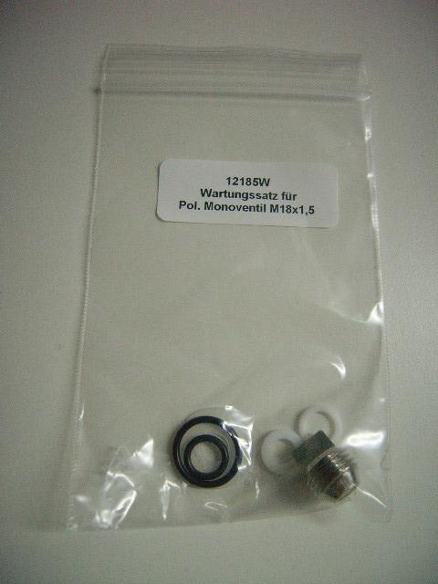 Flaschenventil Revisions Kit  Polaris Standard Monoventil M18x1,5