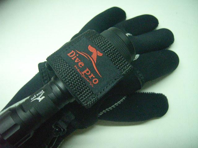 Universal Handschuh-Halter für Lampe - Torch Glove