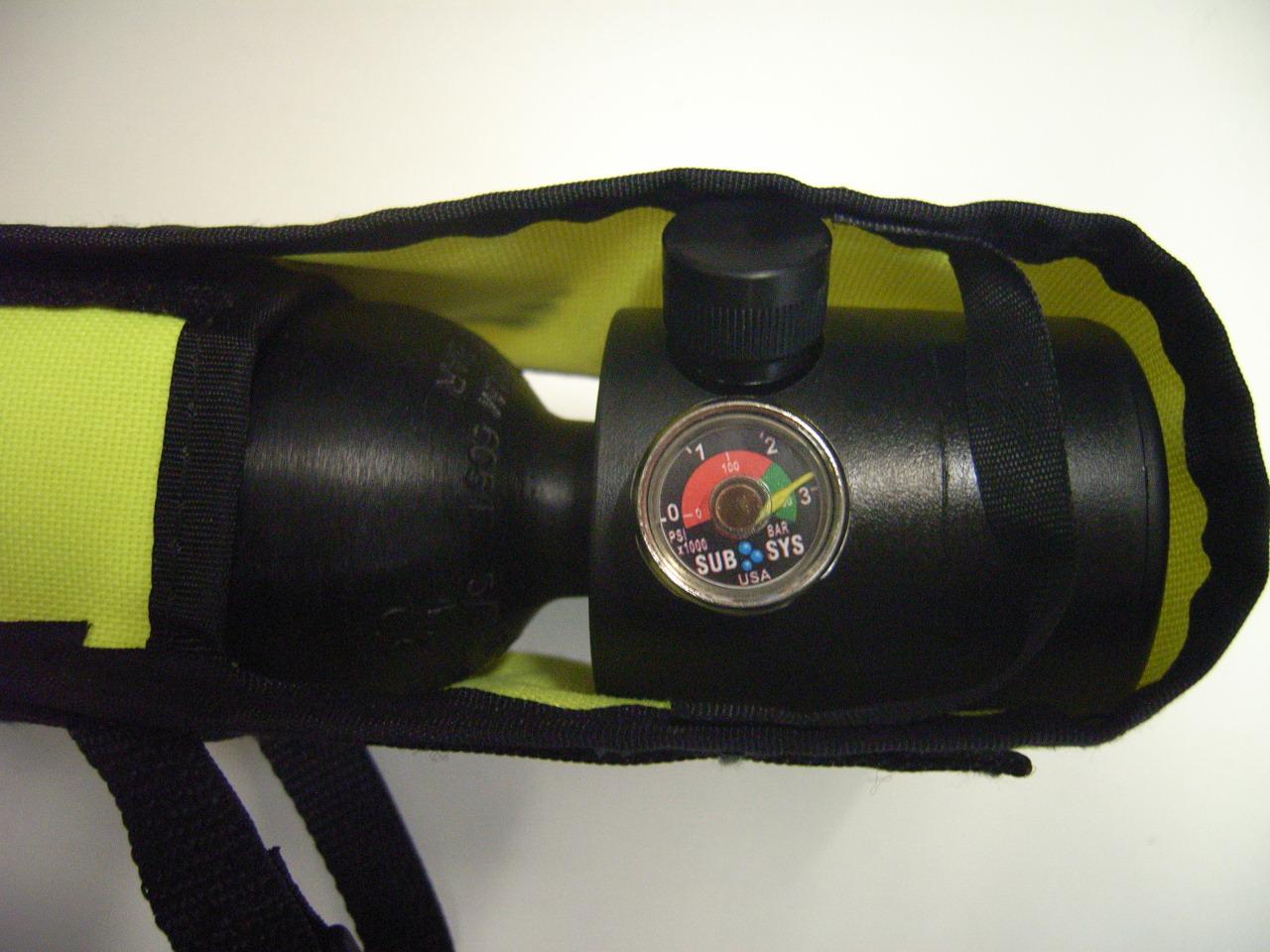 Analog-Manometer für Spare Air