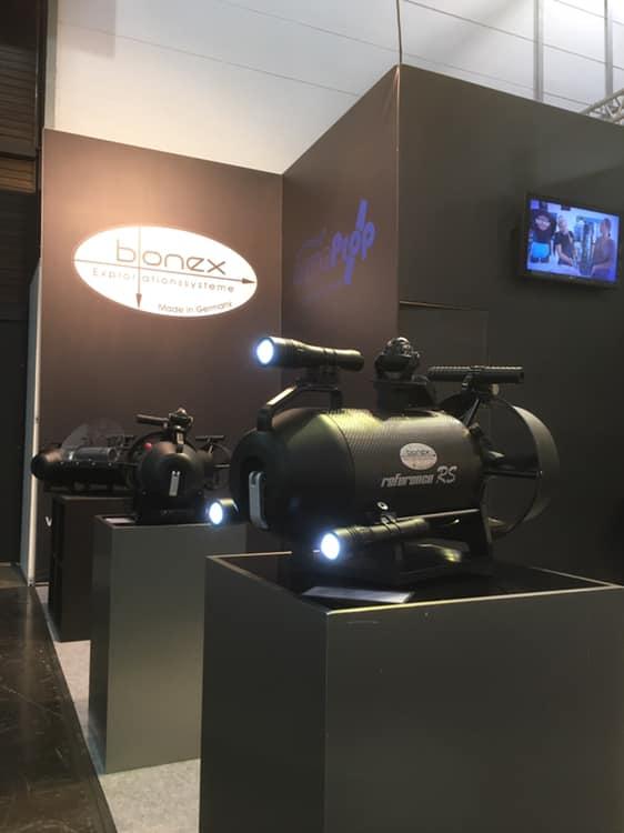 Bonex Lampe mit Picatinny Rail für Systemgriff