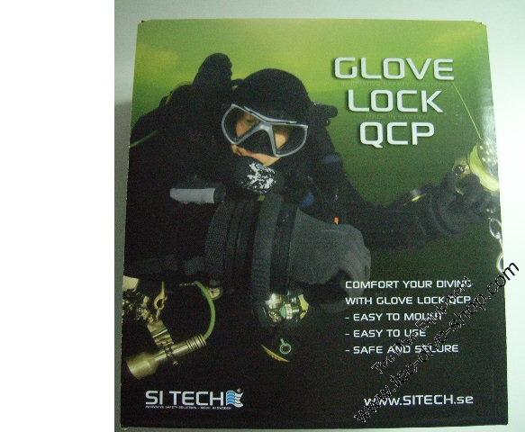Si Tech Glove Lock QCP Ringsystem mit Bajonettverschluss