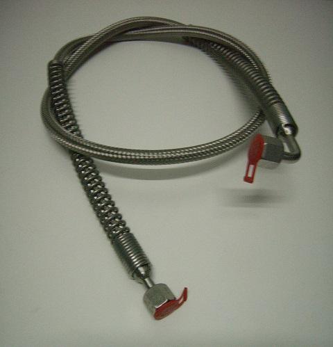 Edelstahlringwellschlauch-8S, verschiedene Ausführungen