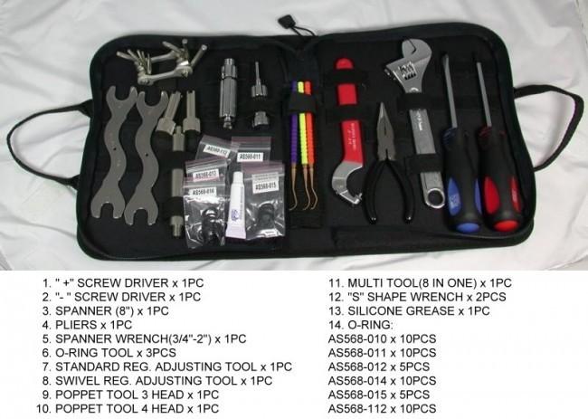 Taucher Werkzeugtasche 1