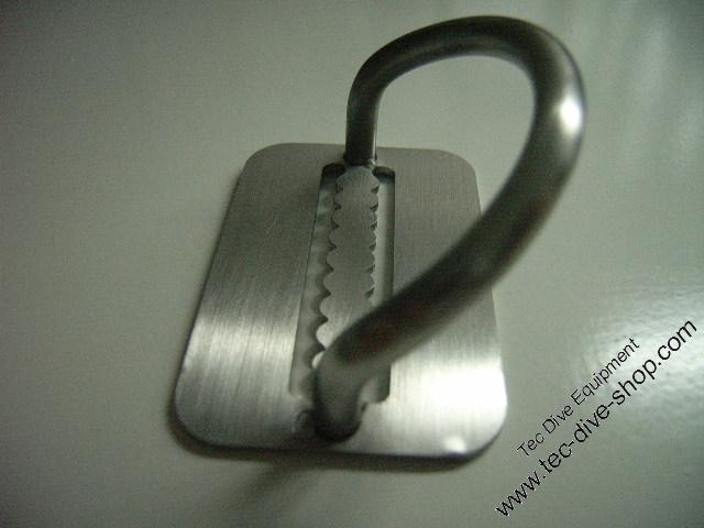 D Ring V4A ( Billy Ring 45 Grad )