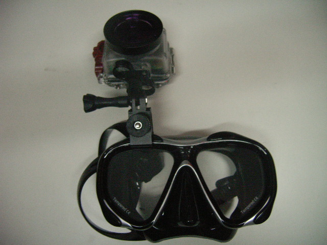 Maskenhalterung für Kamera