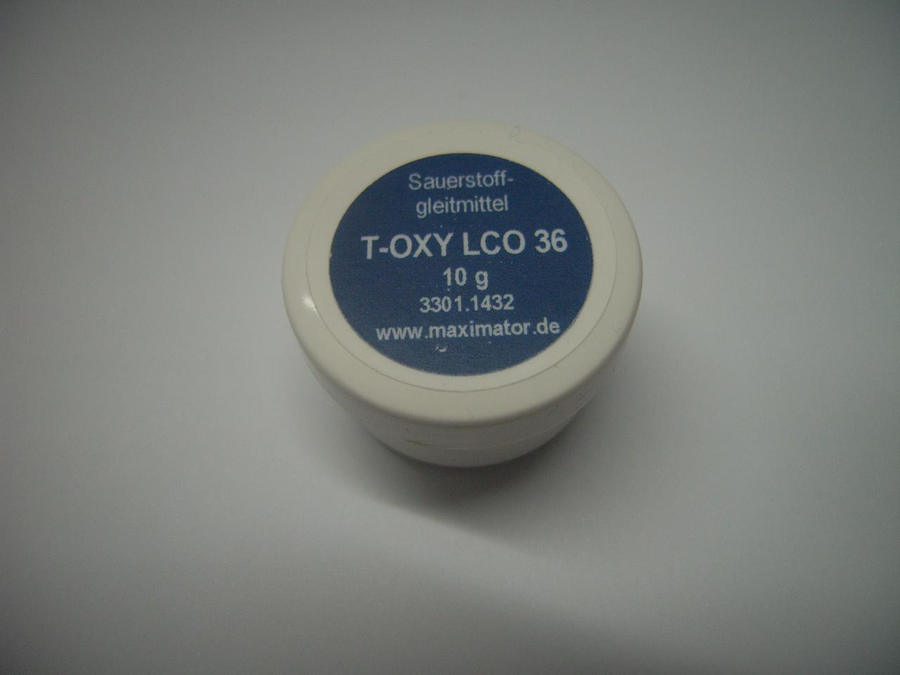 T-Oxy LCO 36, Sauerstoffgleitmittel, 10 g