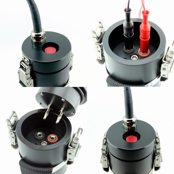 LED Akkutanklampe 40 W, Piezo-Schalter , verschiedene Ausführungen