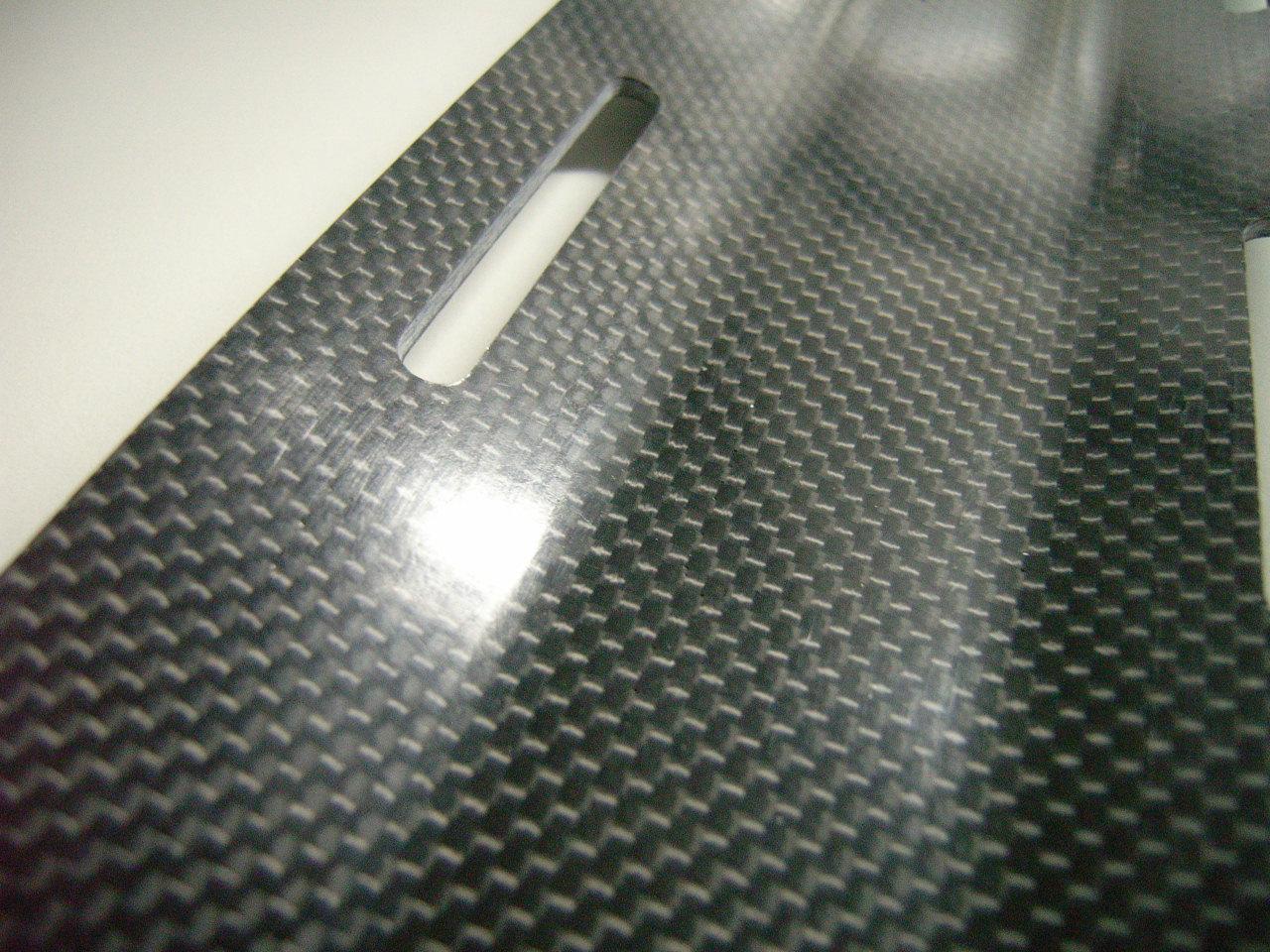 Carbon Monoflaschenadapter