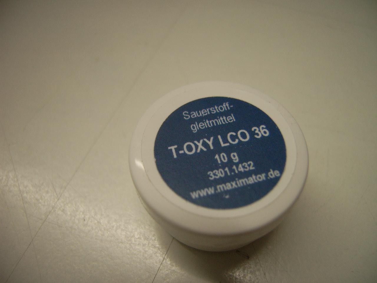 T-Oxy LCO 36, Sauerstoffgleitmittel, 10 gr.