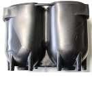 Standfüße für Stahlflaschen, verschiedene Größen