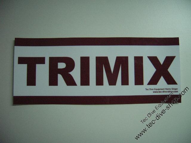 Aufkleber TRIMIX