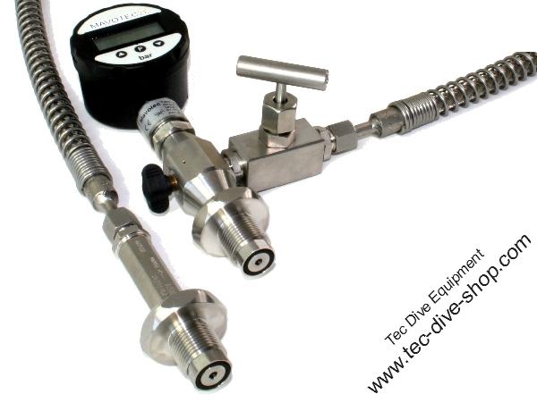 Umfüllschlauch Mischgas digital NITROX M26x2