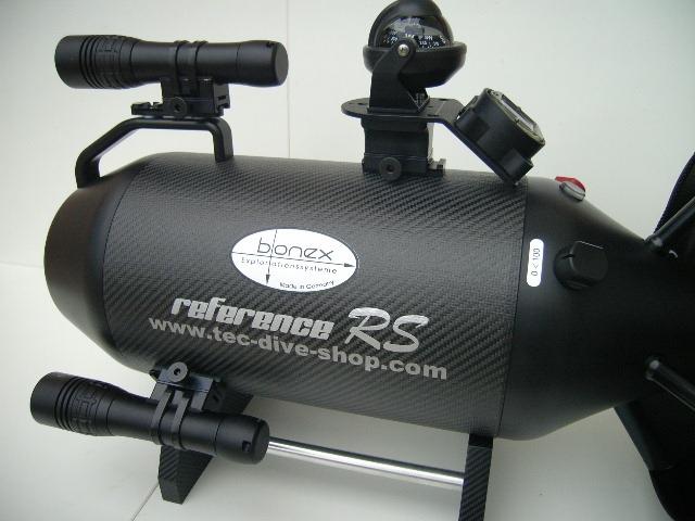 Bonex Reference RS Scooter -  Set mit Stellage und Bonex Lampe mit Lampen Halterung SC-519