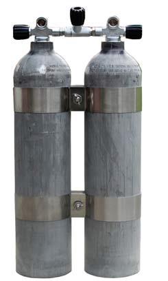 Doppel MeS 11,1 L Alu natur