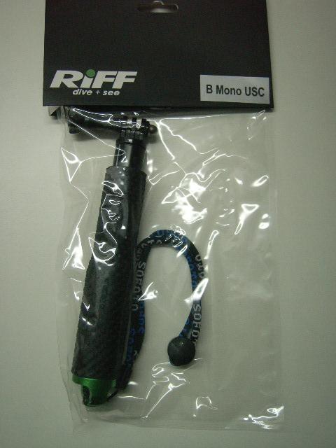Monostativ für Riff USC 1080 Underwater & Sports Camera