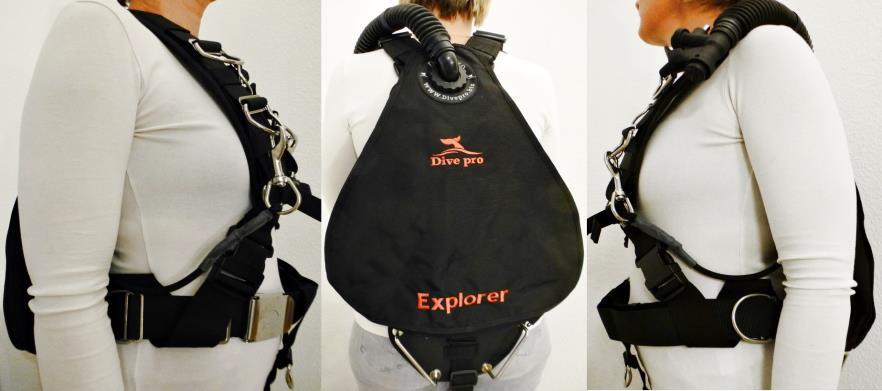 """Sidemountjacket """"Explorer"""""""