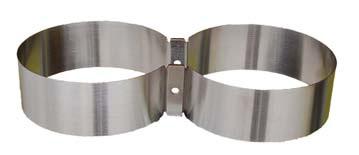 V4 - Tec Schellensatz 152 mm, für 7 L Alu