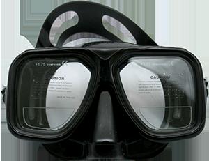 Tauchmaske XS Scuba Gauge Reader II