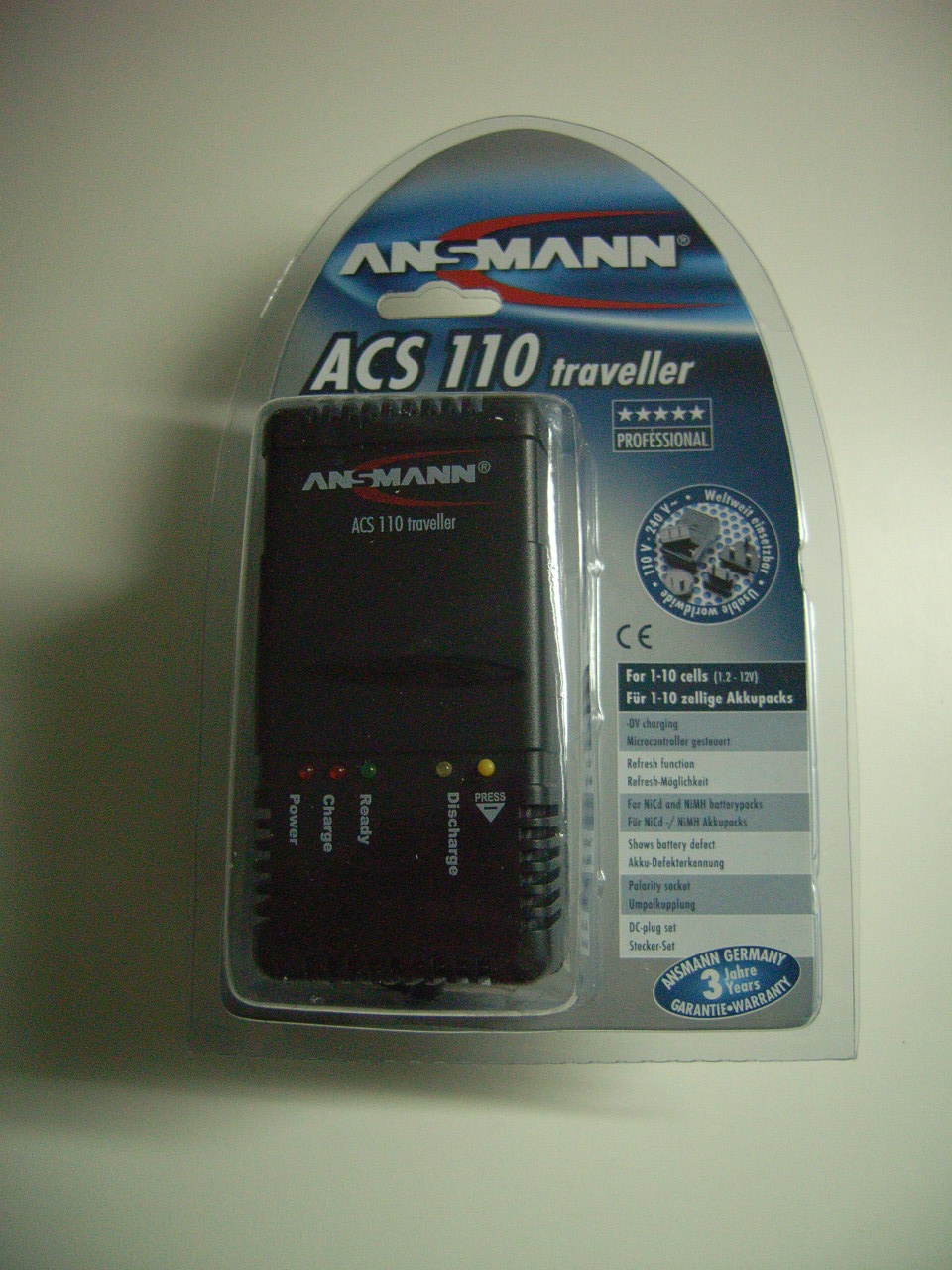 Ladegerät Ansmann ACS 110 Traveler