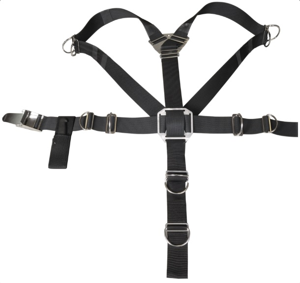 Sidemount Harness Komplett für DIAMOND