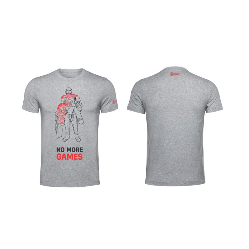 T-shirt DIVESOFT -  Diver - Grey