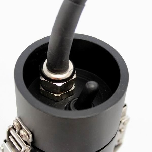 LED Akkutanklampe 10 W,Kippschalter, SMALL & HANDY