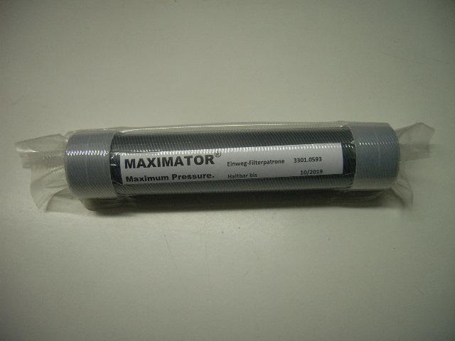 Einweg - Filterpatrone für Personalfilter / Nitrox Cleanfilter / Mavotec-Filter