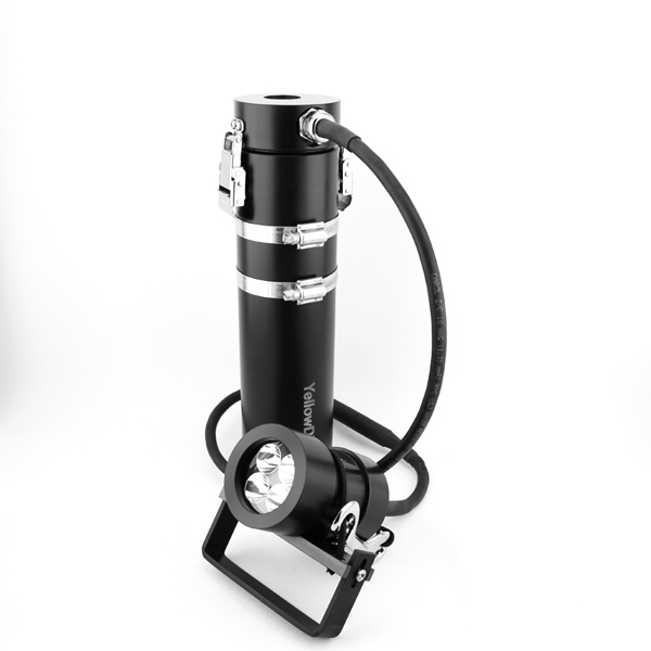 Side Mount LED Akkutanklampe 40 W,Piezo-Schalter, verschiedene Ausführungen