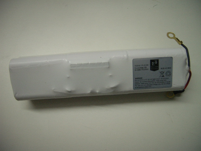 Li-Ion battery pack 15,6 Ah